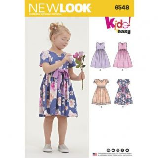 6548 New Look Pattern: Child's Party Dress